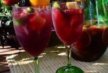 Spanische Gerichte und Getränke