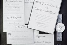 Silver Charcoal Wedding / All you need for your modern silver charcoal wedding.
