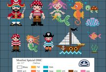 DMC Cross Stitch Freebies