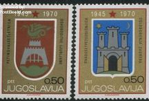 Coat of Arms Stamps / Stamps with topic Coat of Arms