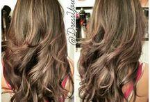 beautiful hair models