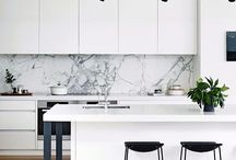 Interiors / Minimalist, clean interior design inspiration.