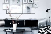 Black and white decore