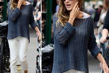 crochet fashion icons