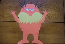 preschool themes Dr. Seuss / by Linda Martin