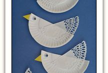 Paperplate crafts / Preschool themes