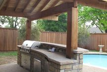 BBQ backyard ideas