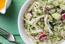 Salades sucrées ou salées summer