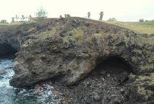 Cueva de Ana Kai Tangata / Una de las cuevas más accesibles y sorprendentes de la Isla de Pascua