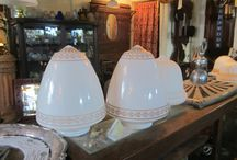 Antique and Reproduction Glass Shades