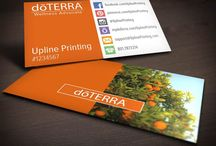 Amazing doTERRA Business Cards / Lots of inspiration from the world wide web for your doTERRA business card designs. :) You sell premium products and you deserve premium business cards to compliment. www.ShaynaMade.com