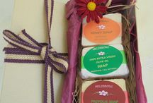 Handmade Soaps with Extra Virgin Olive Oil,Honey,Propolis. / All Natural Organic Ingredients,Soft scented