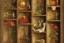 My Vladimir Kush Collection / by Sue Stokey
