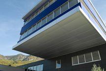Doppelmayr / Nuova sede a Lana (BZ). Fornitura e posa di facciata continua, rivestimenti in alluminio e seramenti