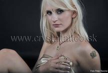 FOTOGALÉRIA / Vyskúšaj to na vlastnej koži ! Najširšia ponuka kryštálových tetovacích nálepiek na www.crystaltattoo.sk