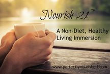 Nourishing Programs / Online nutrition programs guided by a Certified Health Coach.
