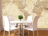 World Map Decors