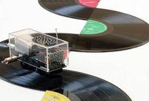 Quelques oeuvres d'art vinyles... / Un peu d'inspiration pour créer à partir de vinyles recyclés.