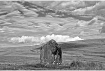 STANDING STONES / Standing stones from around the UK, all Images taken by photographer John R Arrowsuch.