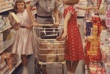People shopping food
