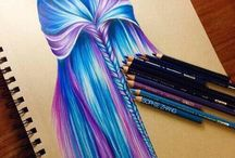 Blue-purple braid