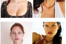 models without make up
