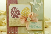 Easter / A collection of cards & projects for Easter featuring IBS Easter stamp sets