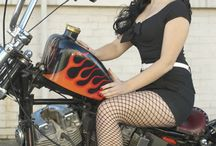 Motorcycle Photo Shoot ideas / Getting a shoot for my bday with my boyfriend on a custom Harley! Need some ideas! lol