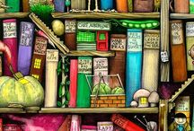 The Bookaholic that's in me / anything bookish releated