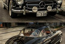 old car's