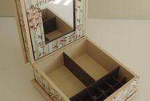caixa porta maquilhagem