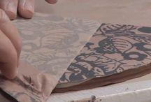 Monoprinted Ceramics