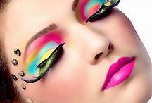 Fashion, make-up, Hair