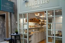 Cuisine, Retail Food Concept / Cuisine is a fresh F&B concept that was built upon the quality of the already established brand La Cigale, and targets the younger audiences aiming to become an everyday destination.