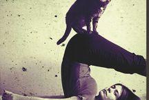 artistic yoga photo