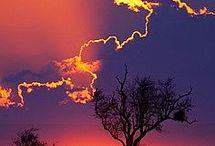 Naplemente, Sunset,  Sonnenuntergang