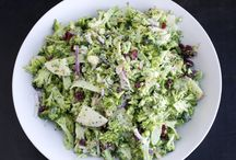 To make again:  Fresh Salads ... / These are lovely salads. Will definitely make again!