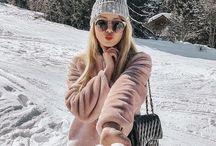 Look de dias frios / Neve, moda na neve, new york