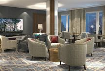 Sheraton Warsaw Hotel / Sheraton Warsaw Hotel invites you to experience the magic of upscale hotel in Poland! Explore newly renovated rooms designed by Alex Kravetz ready to provide you highest comfort and aesthetic experience.