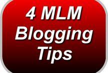 MLM Blogging Tips