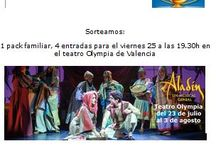 Aladin, un musical genial / Sorteo entradas