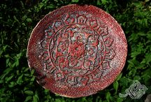 ceramics plate and Bowls / , feel free if you want to have it and write for me #ceramics #plate #pottery