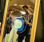 mirror photo booth / magic mirror photo booth