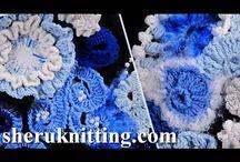 Freeform knitting/crocheting tutorials, patterns, etc.