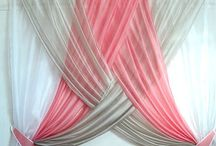 DIY Overlapping curtains!!