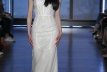 Unique Headpieces / Unique bridal headpieces. Gowns by Ines Di Santo, Spring 2015 Collection Photos by George Chinsee -WWD