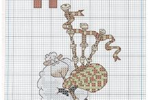 Cross Stitch 12 Days of Christmas