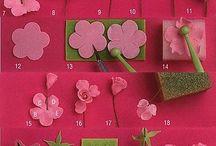 bloemen en ponsjes