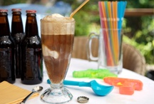 Stephi's Root Beer Float Birthday Party! / by Laina Tallerico