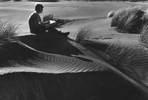 Aotearoa; this is where we stand / New Zealand as we know it. Aotearoa; 'Land of the long white cloud'. Thanks to Dot Boy for kicking this board off with an image by Marti Friedlander of great NZ artist Don Binney sitting on a West Coast sand dune...close to home for us.